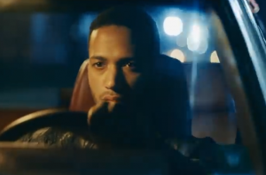 Cesár Sampson from the music video of 'Stone Cold'