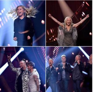 Andra Chanson winners 2019 {copyright:/SVT/Facebook/svtmelodifestivalen}