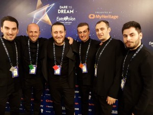 Oto Nemsadze & the team from Georgia