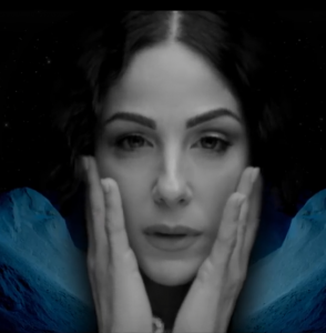 Ira Losco from the video clip of 'High'