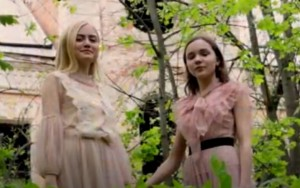 Sofia Fisenko & Darina Rybalko from the video clip of 'A Million Dreams'