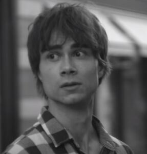 Alexander Rybak from the music video of 'My Whole World'