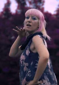 Nina Kraljić from the official video clip of 'Čuvaj me'
