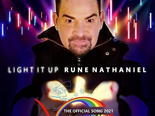 'Light It Up' by Rune Nathaniel is the Official Song for Vinterpride Lillehammer