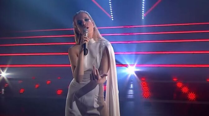 Slovenia: Ana Soklič launches 'Amen' in special EMA show