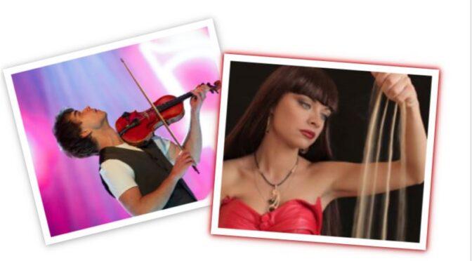 Alexander Rybak feat. Kseniya Simonova and 'Let The Music Guide You'