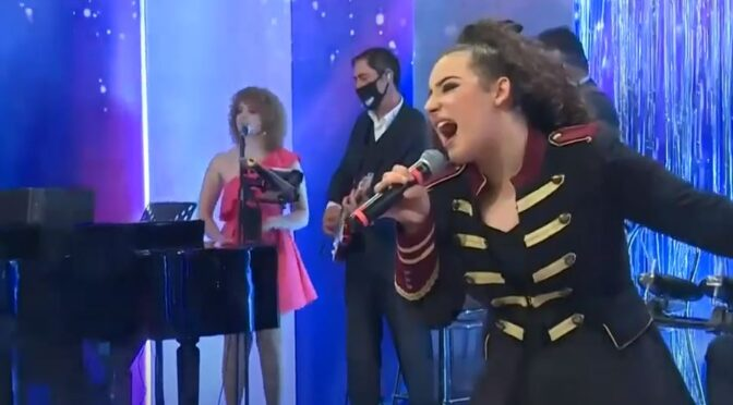 Christina Magrin and her outstanding performances on The Entertainers in Malta