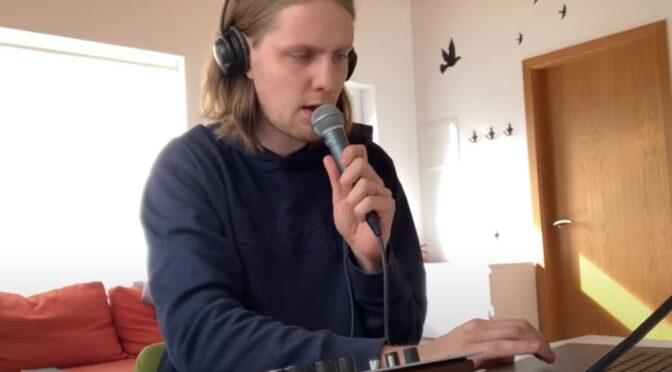 Daði Freyr and his electro cover of 'Arcade'