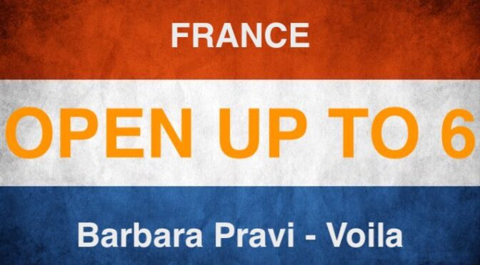 OPEN UP – into position 6 of the 2021 Eurovision entries