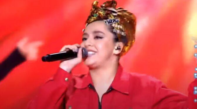 Manizha performs 'Russian Woman' at Zhara Music Awards