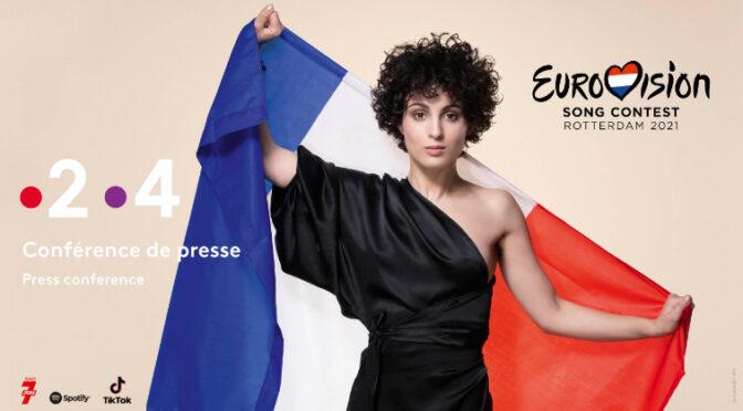 Barbara Pravi Press Conference Kicks off ESCCovers 2021 Eurovision Live coverage