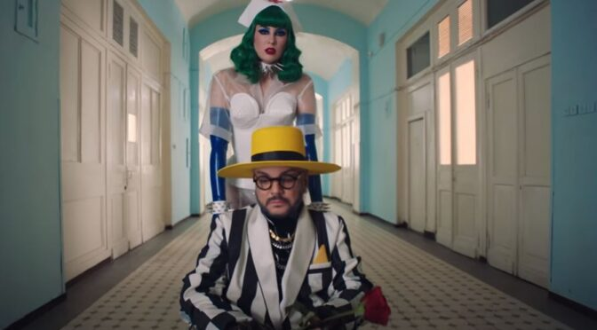 Philipp Kirkorov & Maruv collaborate with 'KOMILFO' song and video