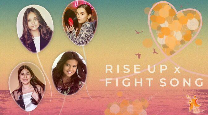 D2D Destiny 'Fight Song x Rise Up' Premiere