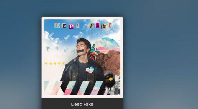 Brendan Murray and his new song 'Deep Fake'
