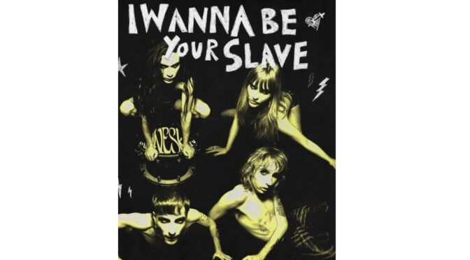 Måneskin release official music video for 'I WANNA BE YOUR SLAVE'