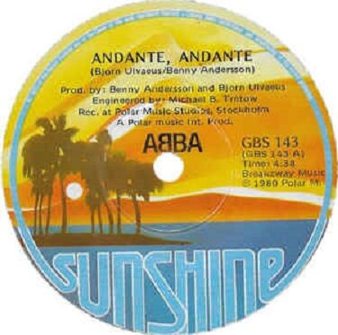ABBA 50 YEARS IN MUSIC BUSINESS – Song 1 Andante andante