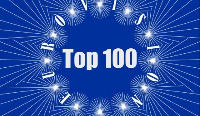 FULL LIST OF THE 100 SONGS IN OUR TOP 100