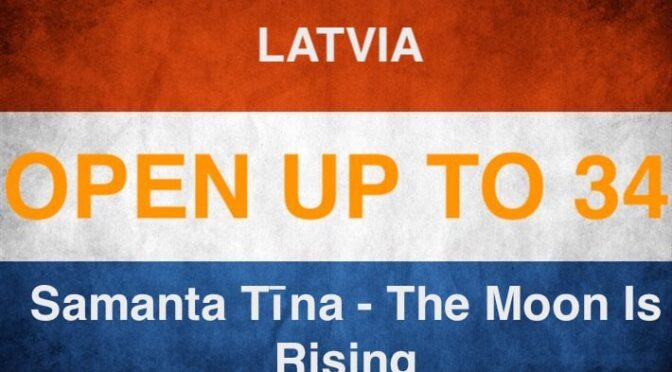 OPEN UP – to position 34 of the 2021 Eurovision entries