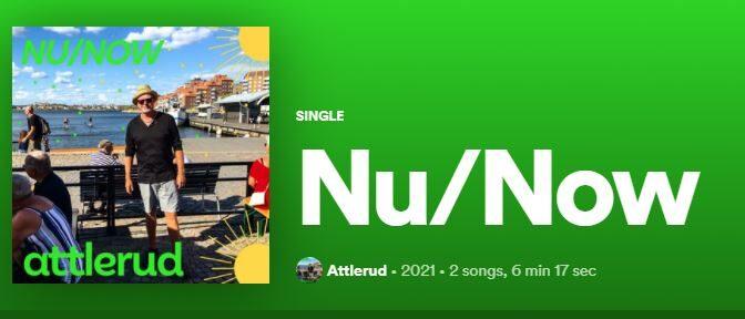 'NU / NOW' – ATTLERUD feat. JEPPE