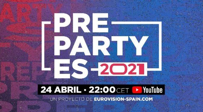 SPANISH 2021 EUROVISION PRE PARTY