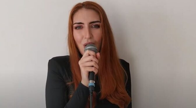Jessica Spiteri covers 'El Diablo' by Elena Tsagrinou (2021 ESC Cyprus)