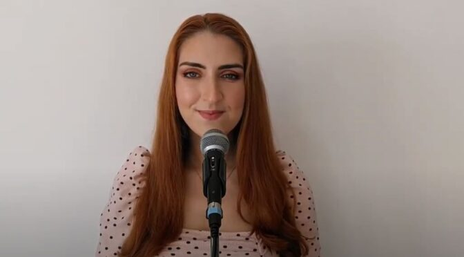Jessica Spiteri and her cover of 'Voy A Quedarme / I'll Stay' by Blas Cantó