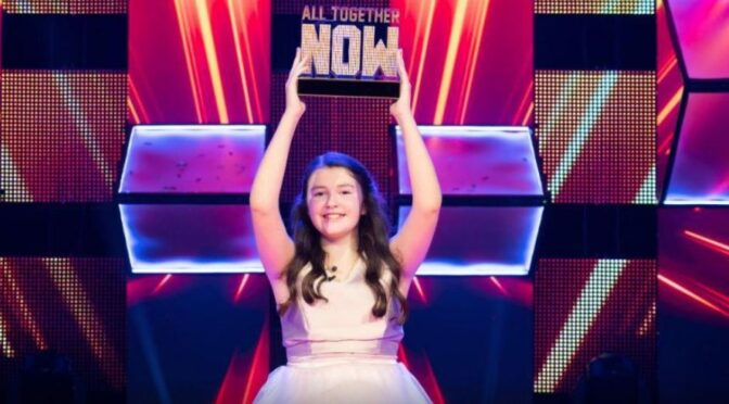 Joana Almeida wins 'All Together Now Kids' in Portugal
