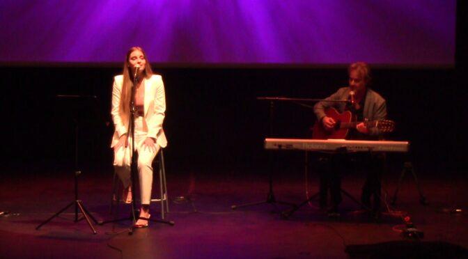 Rita Laranjeira gives special performance at Liceu de Sintra Comemorações concert in Portugal