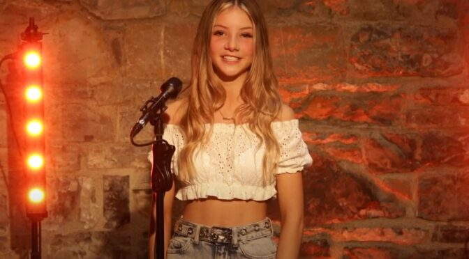 Anna Kearney and her beautiful cover of 'Tattooed Heart' by Ariana Grande