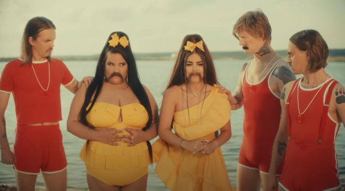 Little Big feat. Netta collaborate with a 'Moustache'