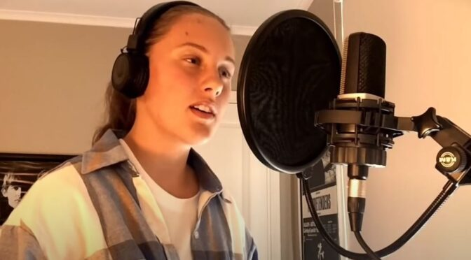 Emilia Sjöholm and her cover of 'Don't Shut Me Down' by ABBA