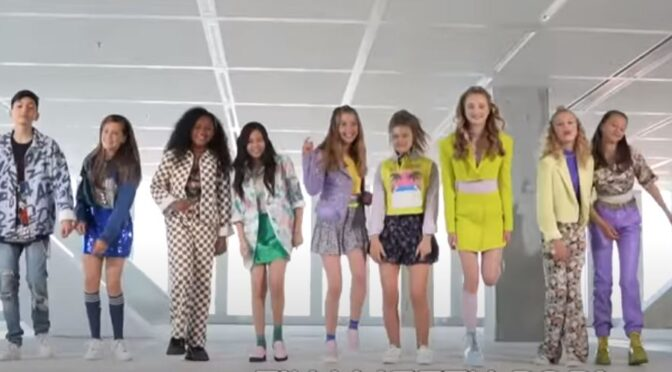 'Let's Sing Together' say the finalists of Junior Songfestival 2021 in the Netherlands